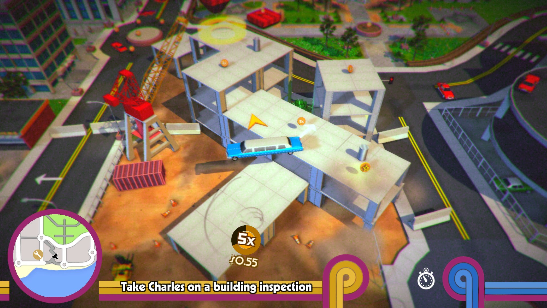 Control a Spinning Car in Roundabout on Steam for Linux