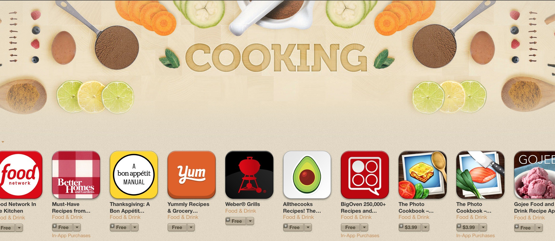 Cook your best recipes with these ios apps cooking apps for ios forumfinder Images