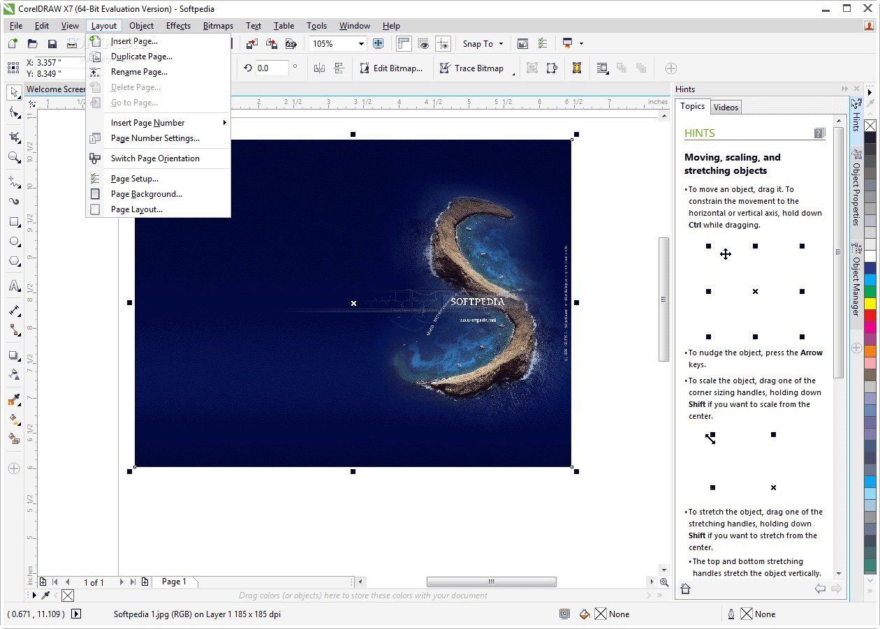 corel draw x7 free download for windows 8.1