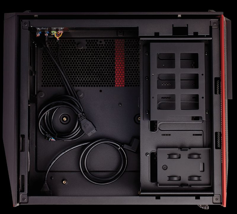 corsair s bulldog diy gaming pc the compact beast in your living room
