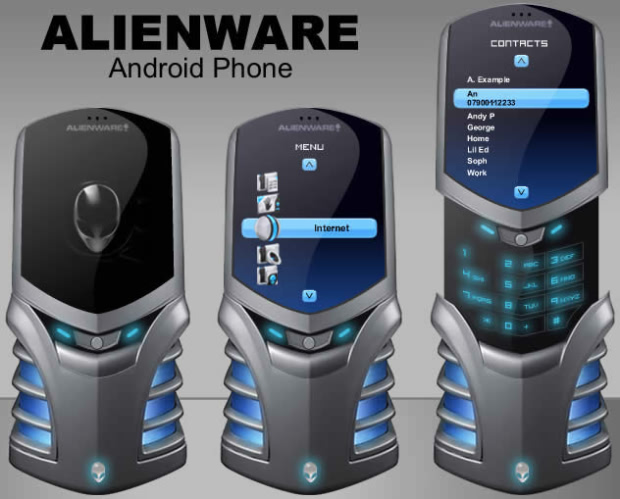 Could Dell Alienware And Google Make An Android Phone