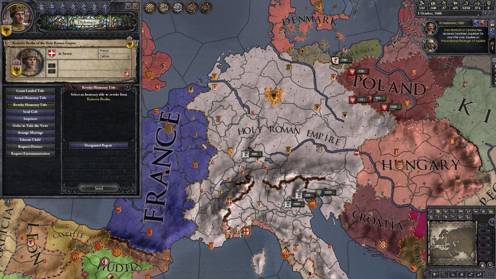 Crusader Kings Ii Charlemagne Introduces Viceroys And Vassal Limits