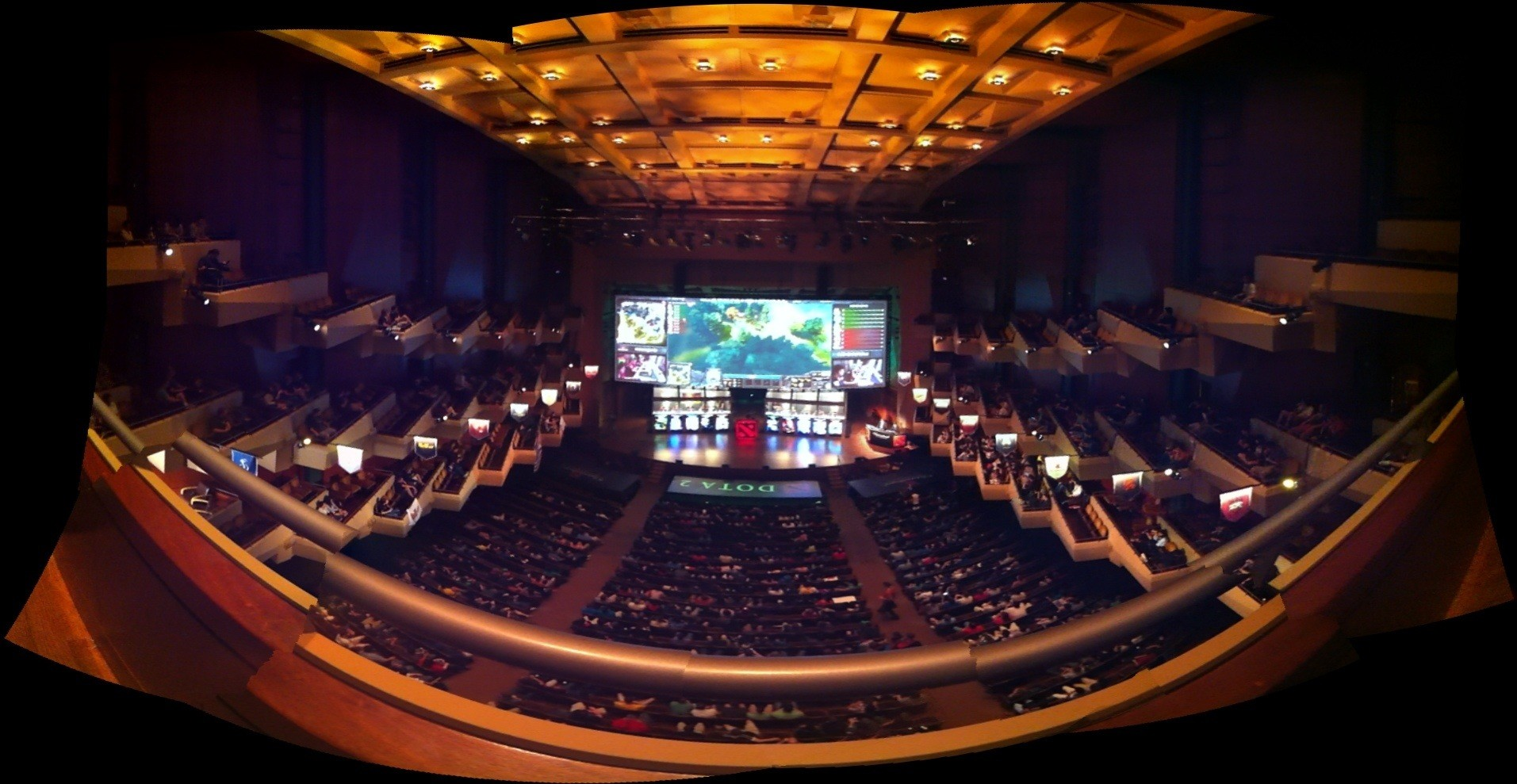 The International 5 Stage