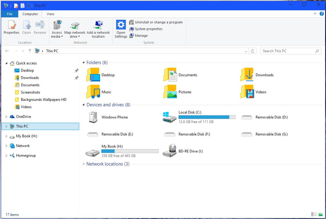 Designer Revamps Windows 10's File Explorer with New UI and Tabs