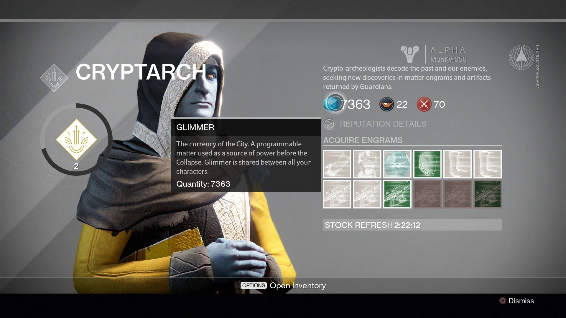 Modern Ui Design | Destiny S Interface Is A Miracle Of Modern Design