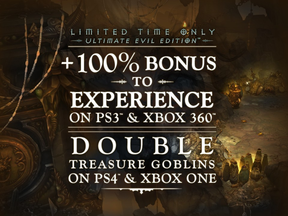 Diablo 3 Gets Special Week-Long Bonuses on PS3, PS4, Xbox