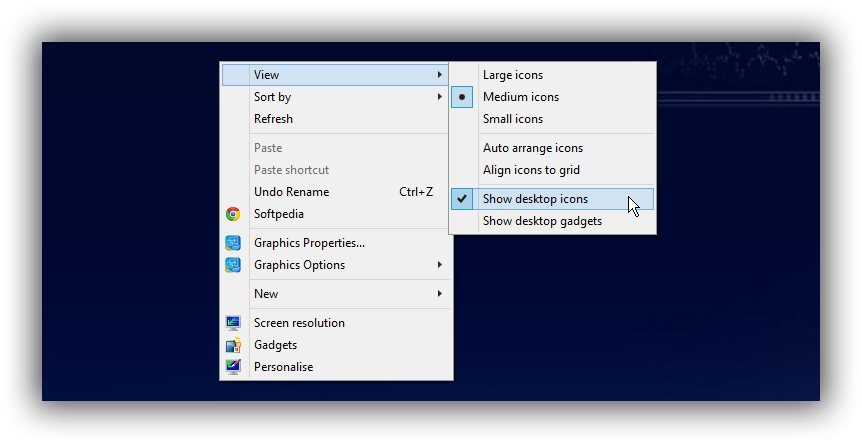 Display Common Icons on Desktop in Windows 10