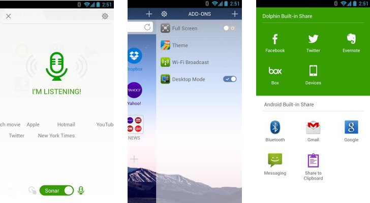 Dolphin Browser for Android 10 2 5 Now Available for Download [Updated]