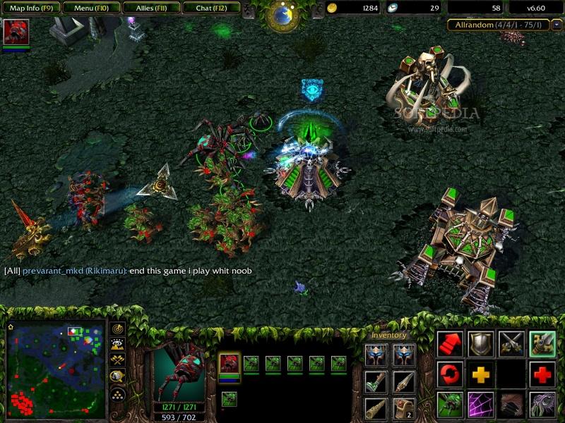 Dota 6 60 The Crown Of Warcraft Iii