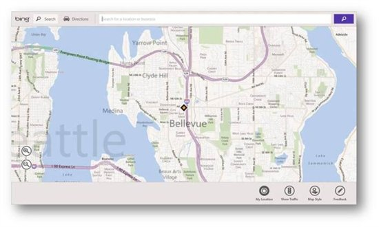 Download Bing Maps SDK for Metro Style Apps on