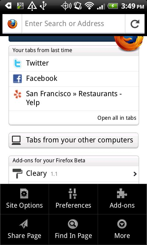 Download: firefox 14 apk for android fastest mobile browser.