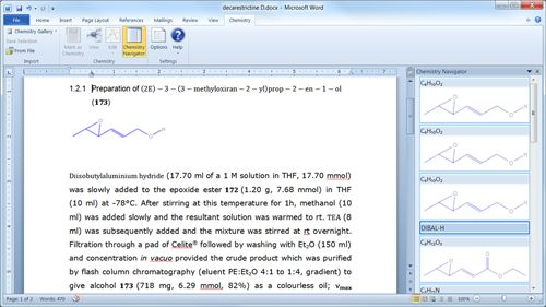 Download Free Chemistry Add In For Office Word 2010 And 2007