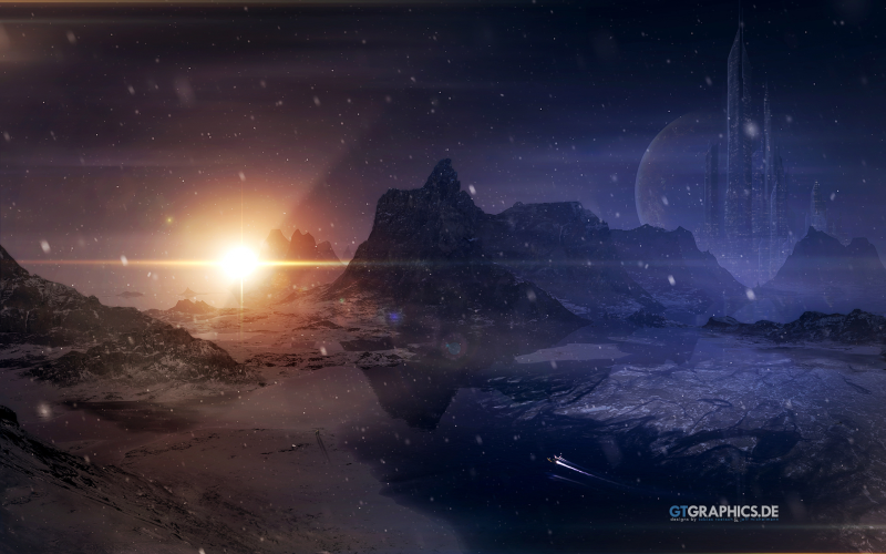Download Free Windows 7 Space Theme By Gtgraphics
