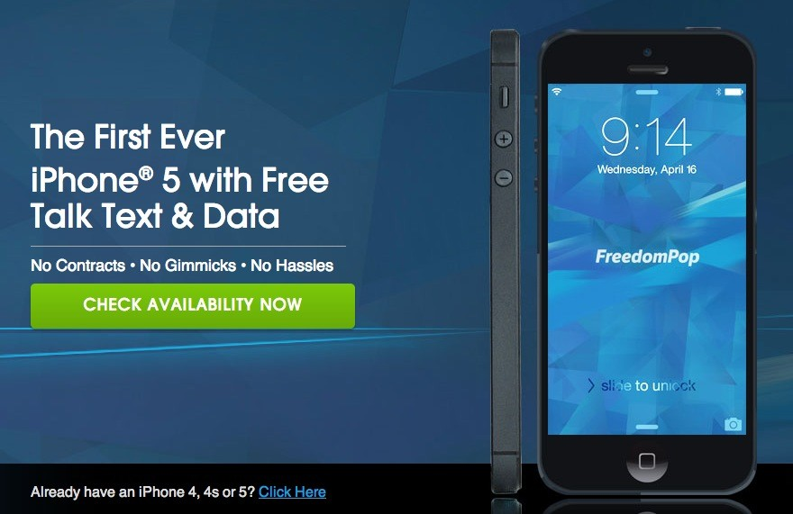 Download FreedomPop Free Voice and Text for iPhone, iPad