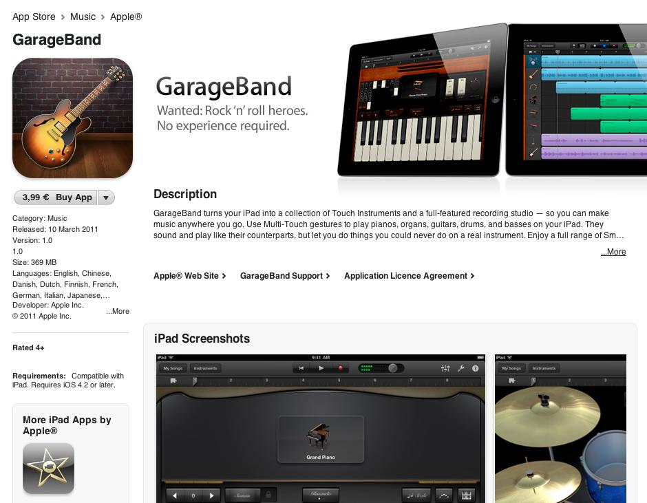 Garageband Downloads For Ipad