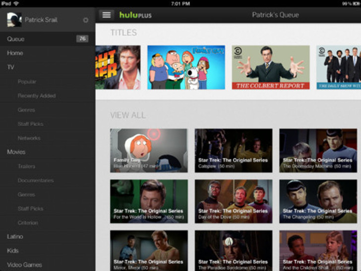 Download Hulu Plus 3 0 for iPhone and iPad