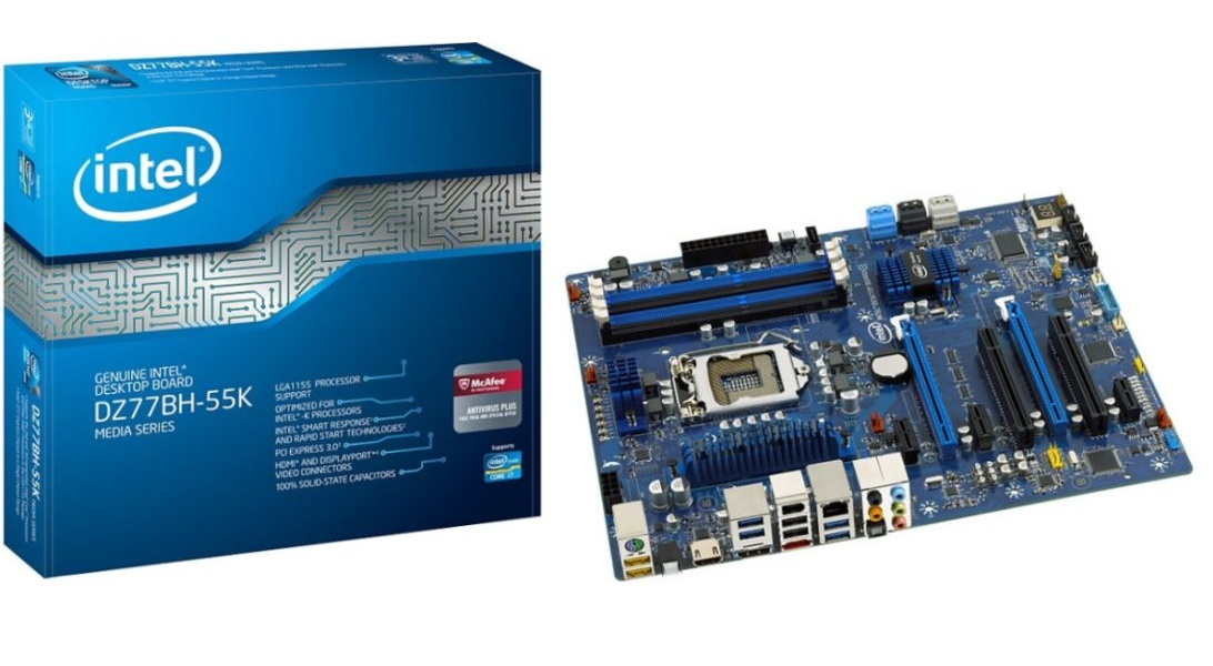 Intel DZ77BH-55K Express Windows 8