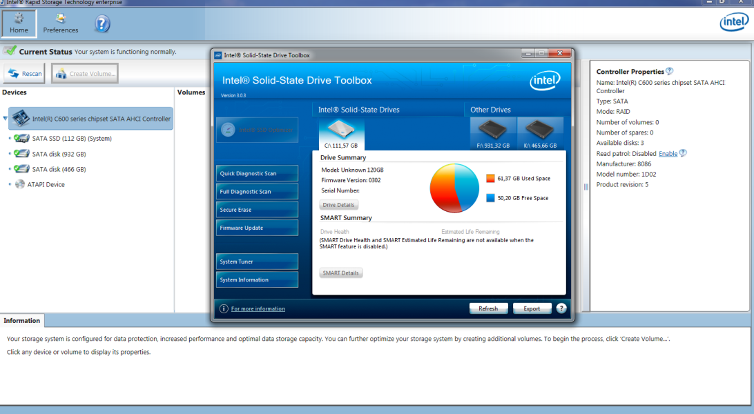 INTEL C600 RAID WINDOWS 7 64 DRIVER