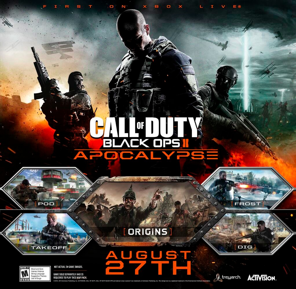 Download Now Call of Duty: Black Ops 2 Update 1 15 on Xbox 360