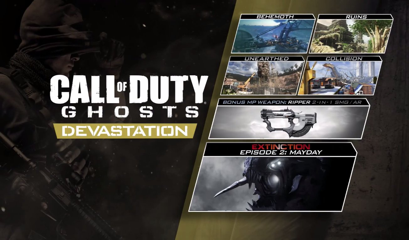 Download Now Call Of Duty Ghosts Devastation Dlc On Xbox One