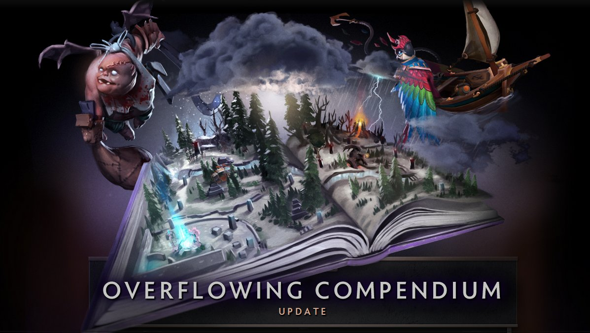 A brand new Dota 2 update is now live