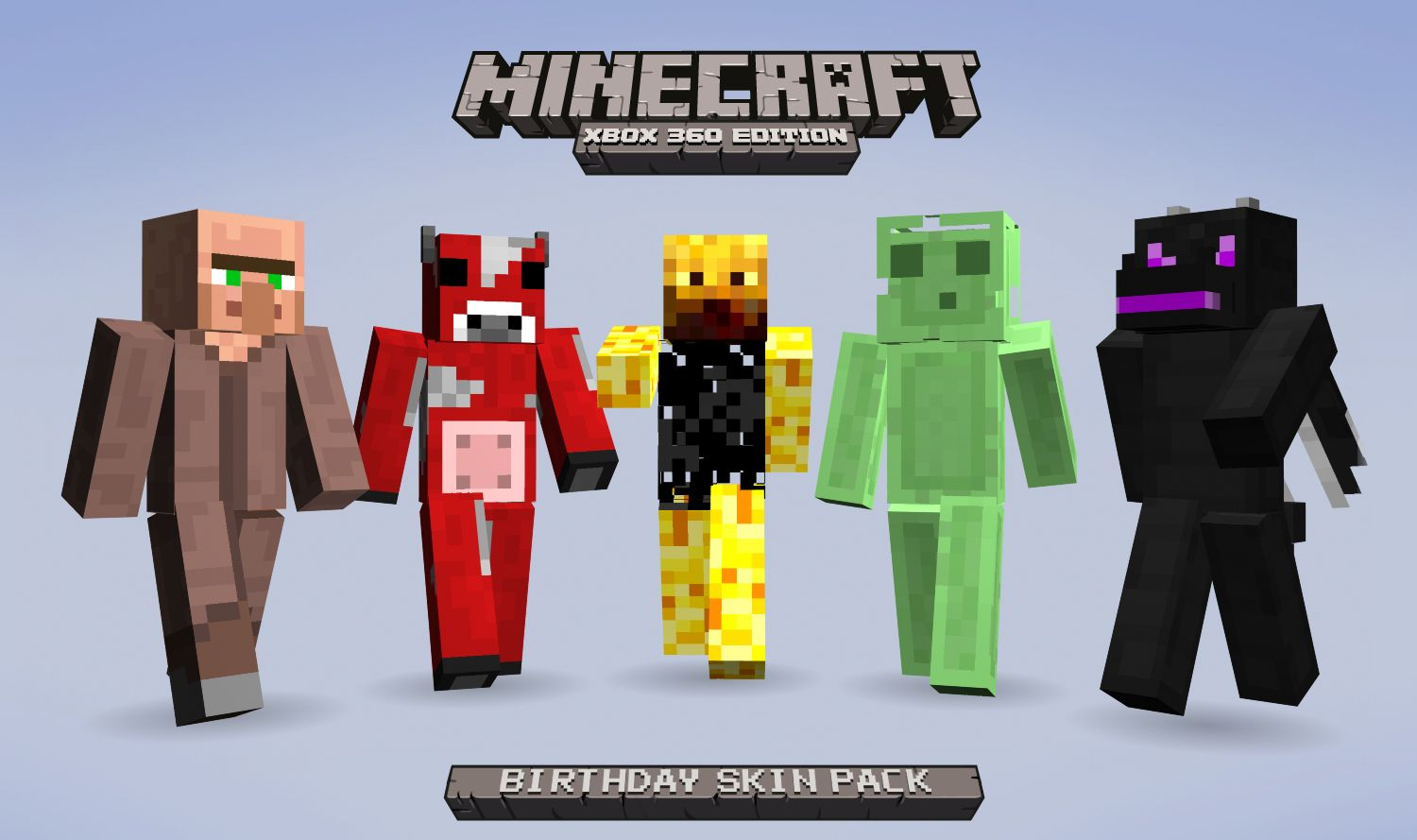 Download Now Free Birthday Skin Pack for Minecraft on Xbox ...