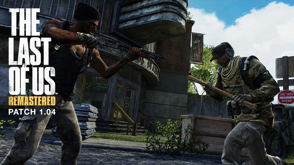 Download Now The Last of Us Remastered PS4 Patch 1 04 for