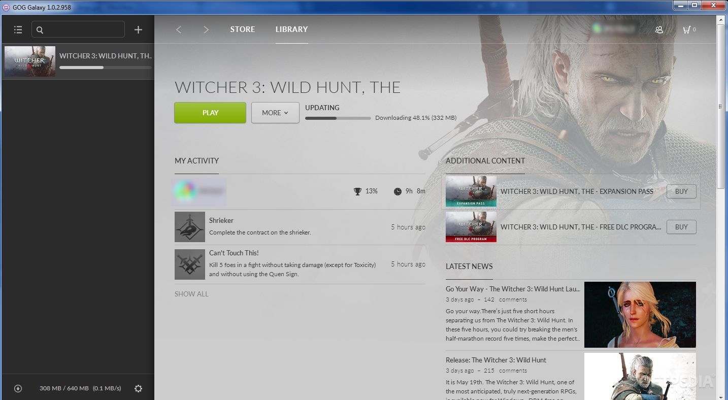 the witcher download