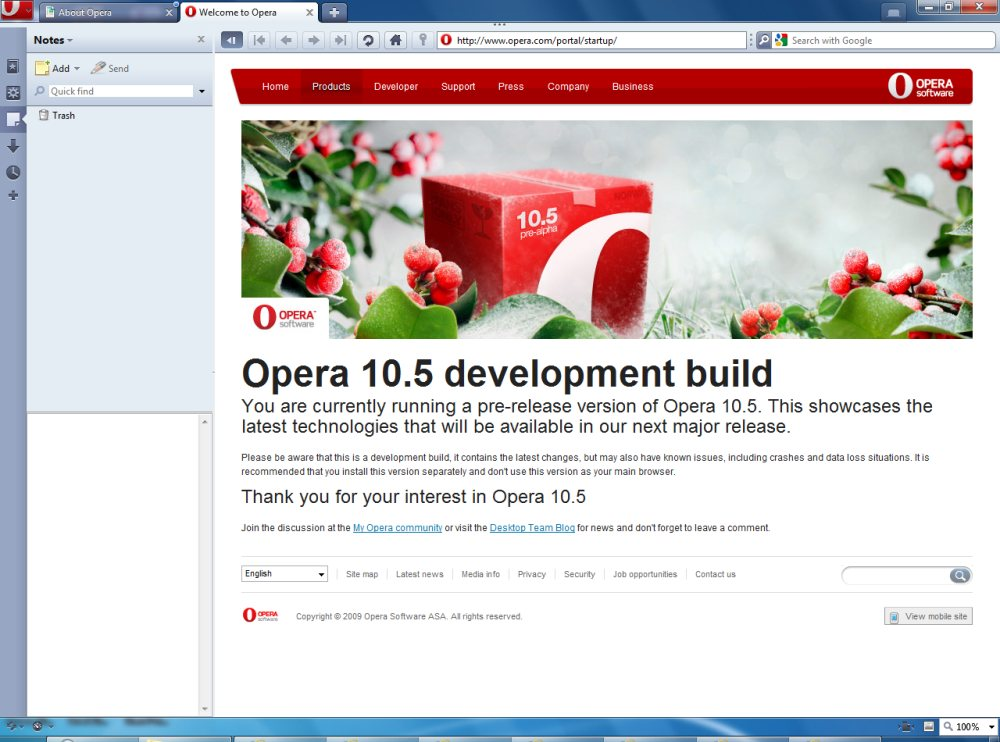 opera 10.50 free download