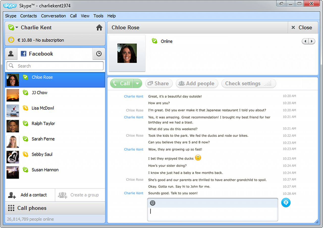Skype 5. 5 beta download – hands on with facebook features.
