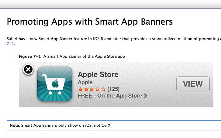 Download Smart App Banners for iOS 6, Promote Your Title