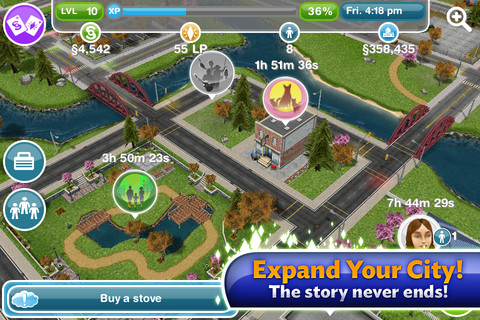 Download The Sims FreePlay 3.1.0 iOS