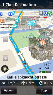 Download Updated Ovi Maps 3 Beta