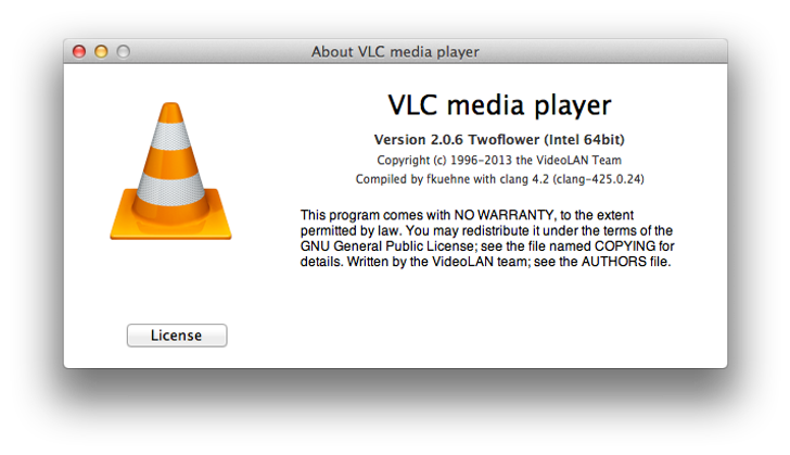 vlc 2.0 6 twoflower free download