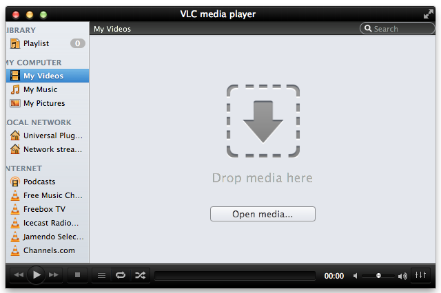 Download vlc player 20 twoflower for mac os x vlc 20 twoflower interface ccuart Images