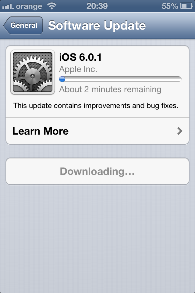 Download iOS 6 0 1 for iPhone, iPad, iPod touch