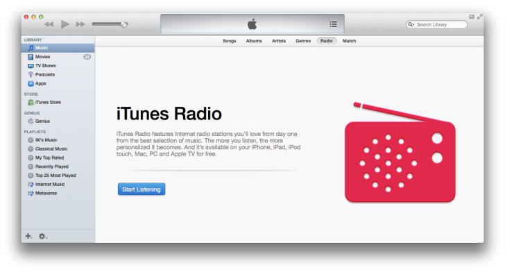 Itunes radio pc