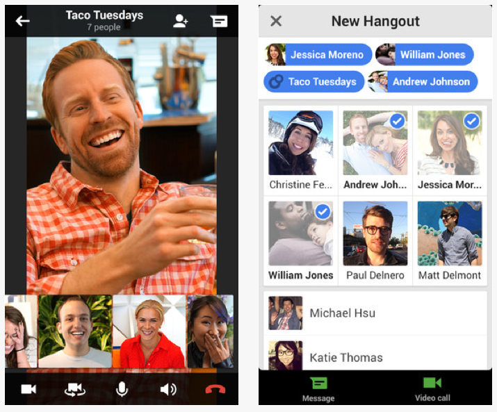 Download The All New Google Hangouts Iphone App