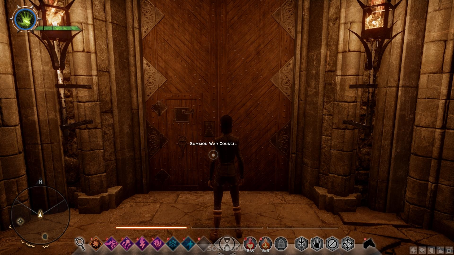 how to get to war room dragon age