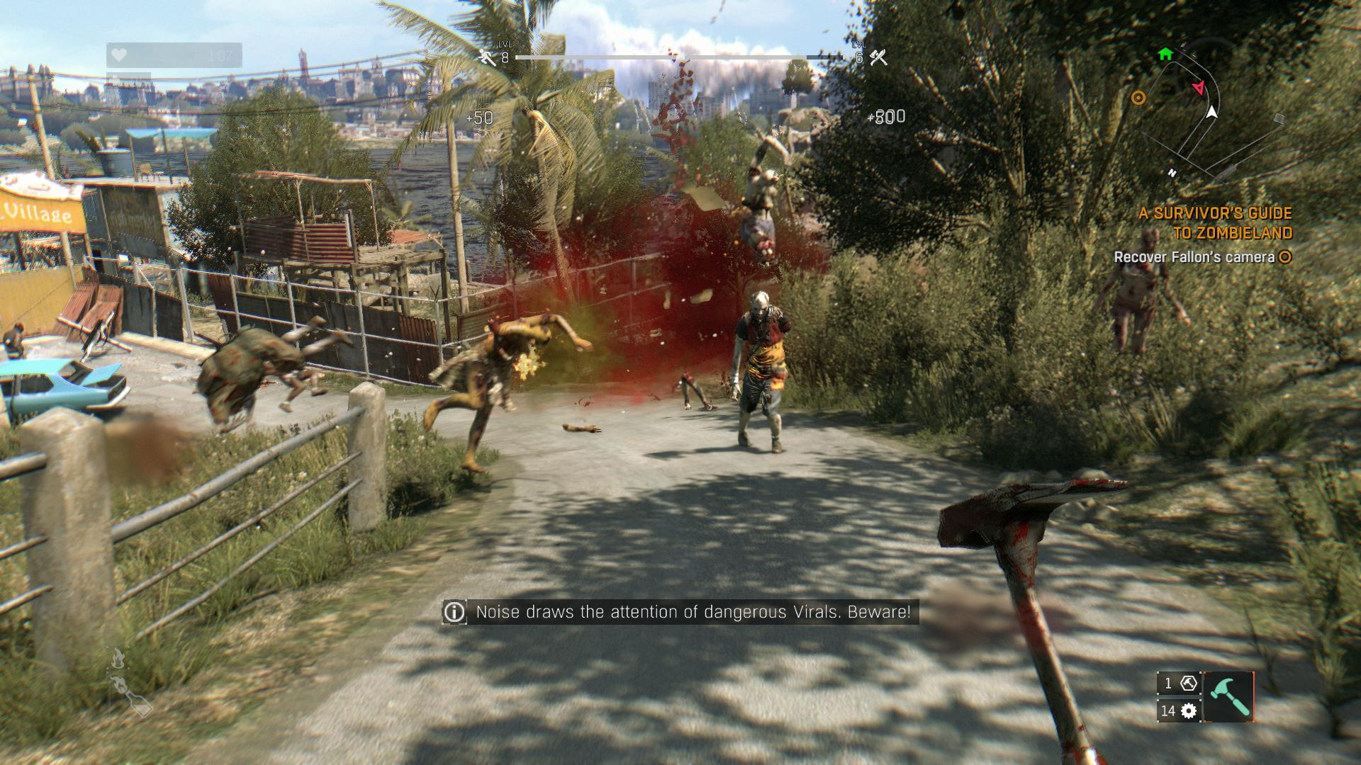 Dying light receives major patch on pc, improves performance.