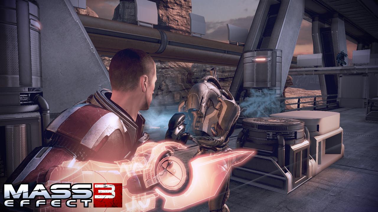 Mass Effect 2 dating