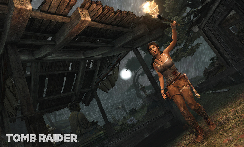 E3 2011 Tomb Raider Gets Gameplay Video Demonstration New