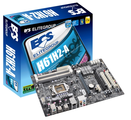 ECS Announces Its Entry Level H61-Based Sandy Bridge Motherboard Lineup