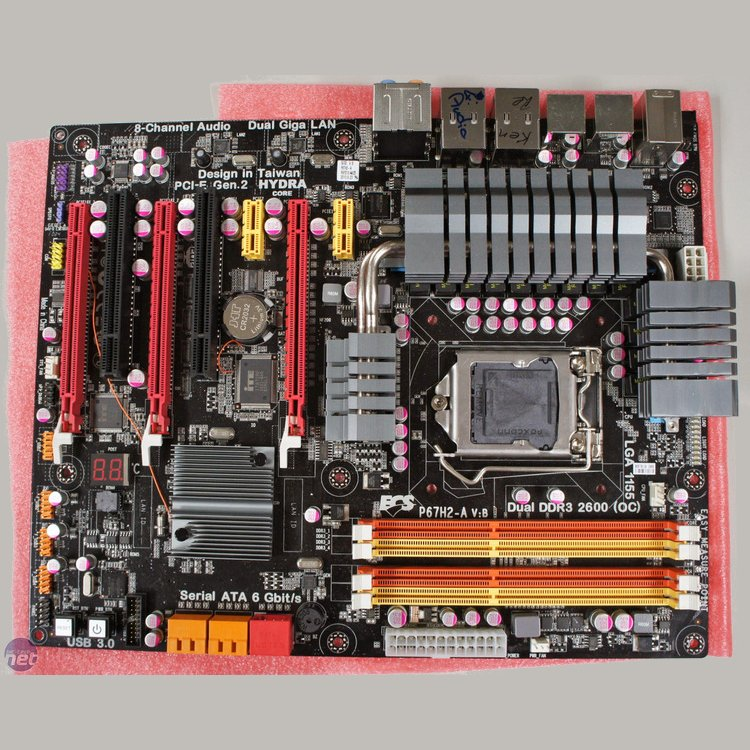 ECS Motherboard Combines NVIDIA and AMD Video Cards