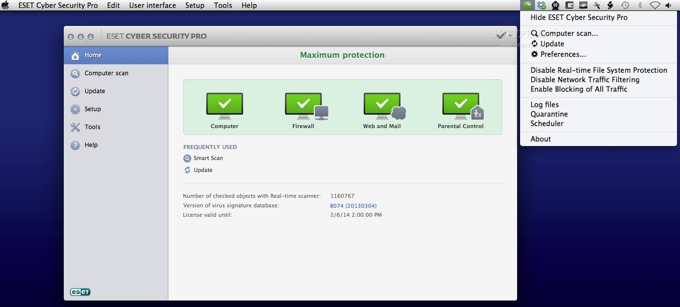 Protect Your Mac With Eset Cyber Security Pro