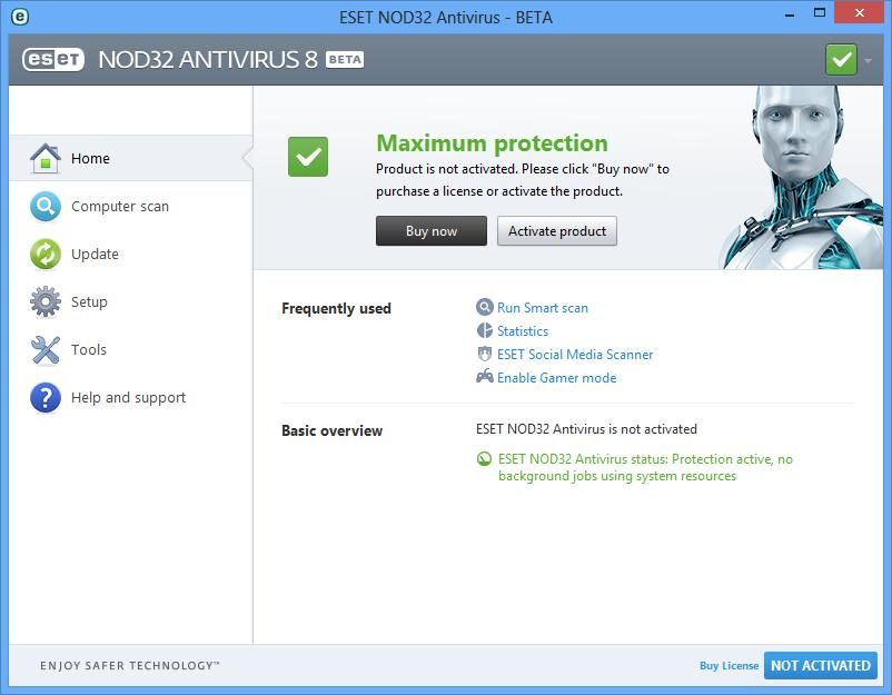 Eset nod32 antivirus for windows 7 | freeallsoftwares. Com.