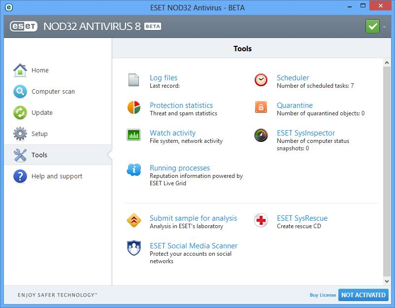 Eset nod32 antivirus 7 beta download windows 8/7/vista/xp.