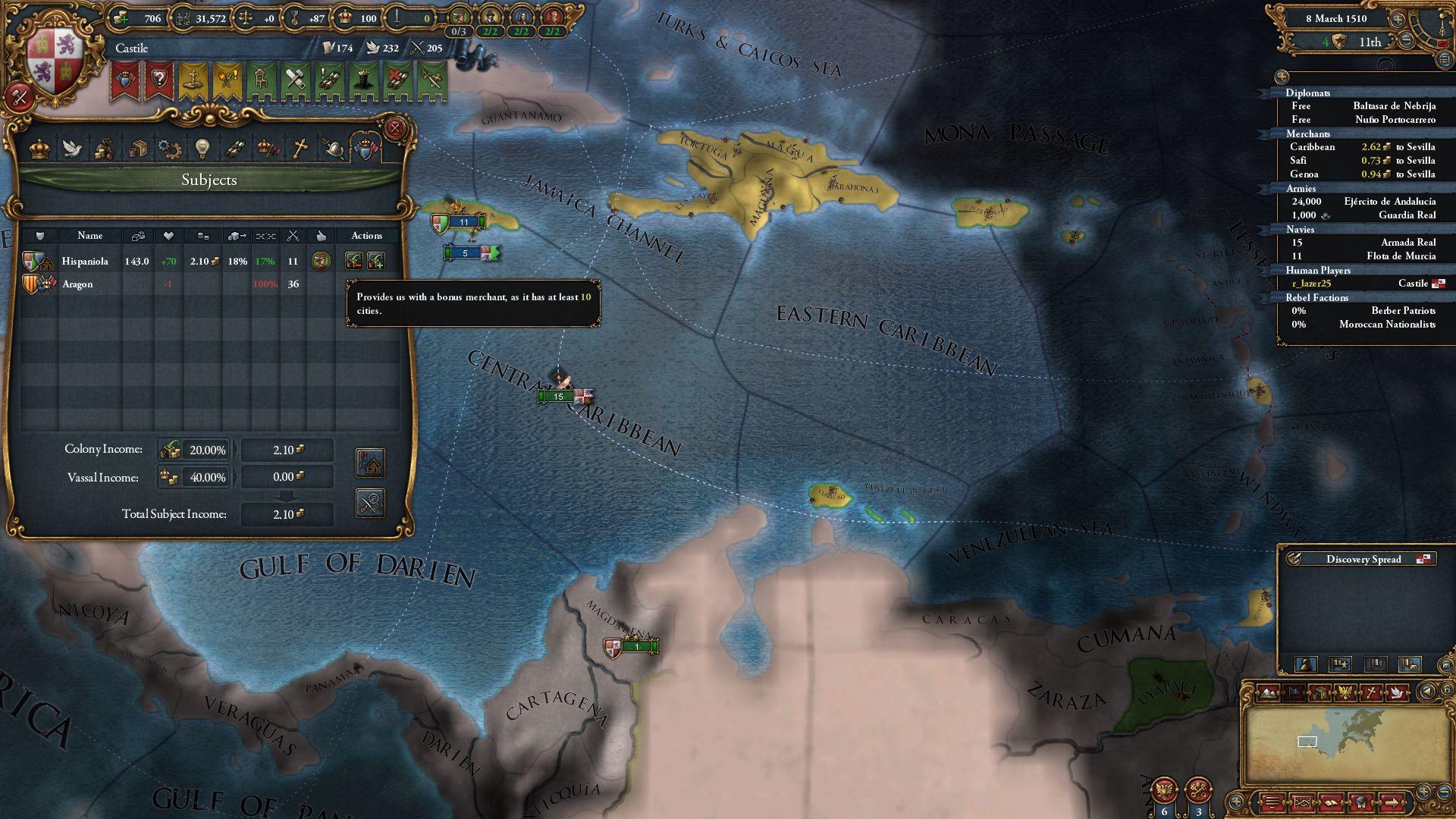 EU IV - El Dorado Will Have Reworked Exploration, Seven