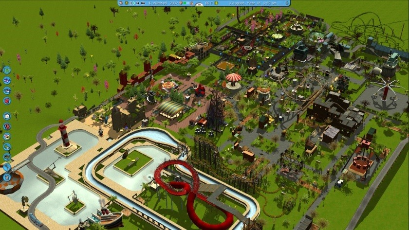 Elite: Dangerous Dev Announces Coaster Park Tycoon for 2016