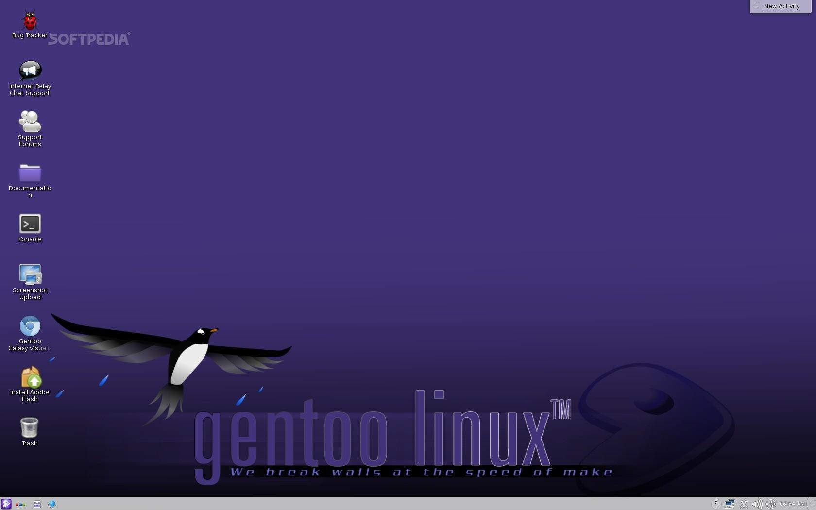 Elusive Gentoo Live DVD